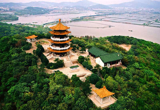 Wuxi, Jiangsu Province, one of the 'top 10 China's satisfying tourist cities of 2012' by China.org.cn.