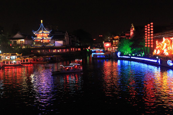 Nanjing, Jiangsu Province, one of the 'top 10 China's satisfying tourist cities of 2012' by China.org.cn.