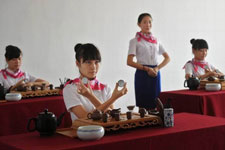 Tea ceremony added to flight training