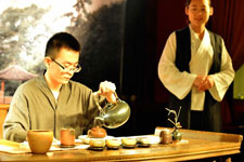 Final contest of of tea ceremony in Asia Tea Forum