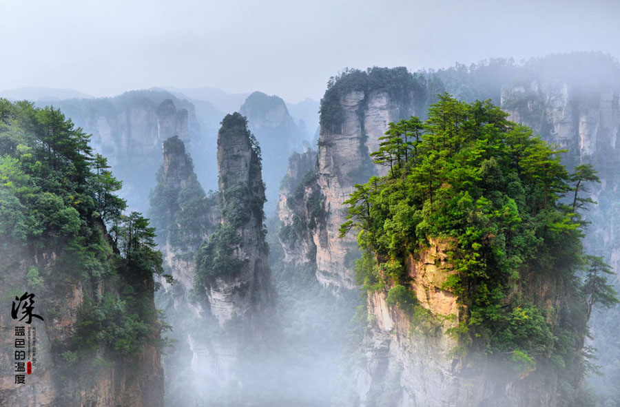 Zhangjiajie, located in the northwestern part of Hunan Province, is about 265 kilometers to Changsha, the provincial capital.
