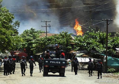 Image result for 2012 rakhine state riots