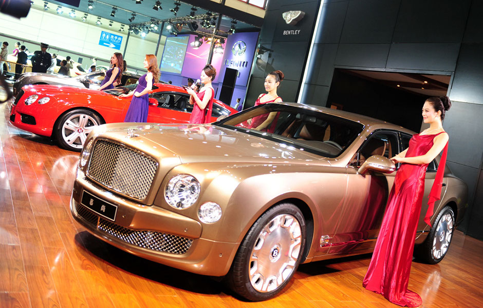 Luxury Car Sales In Overdrive China Org Cn