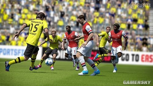 FIFA Soccer 13, one of the 'top 10 best-selling games in U.S. of 2012' by China.org.cn.