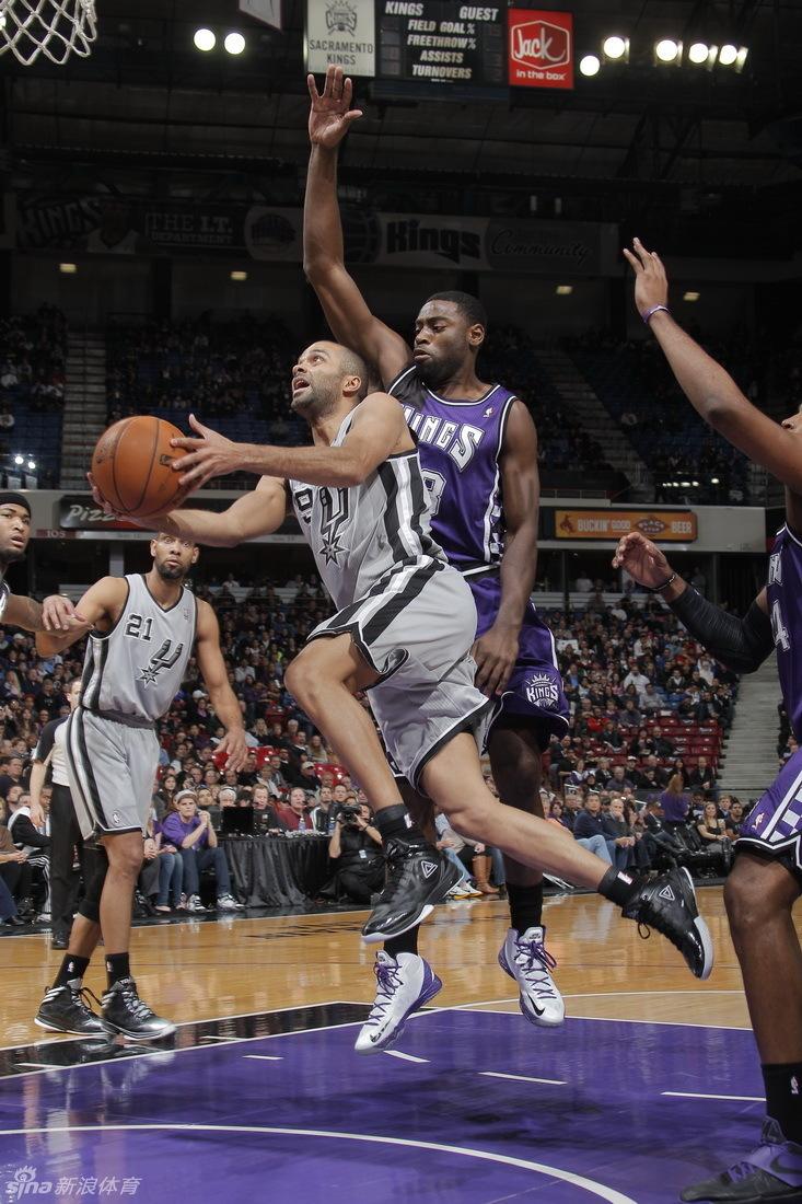 Spurs beat Kings 108-102- China.org.cn