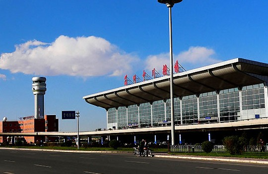 Lanzhou Zhongchuan Airport, one of the 'top 10 worst airports in China' by China.org.cn.