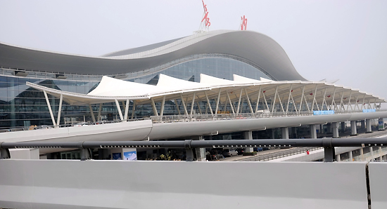 Changsha Huanghua International Airport, one of the 'top 10 airports in China 2012' by China.org.cn.