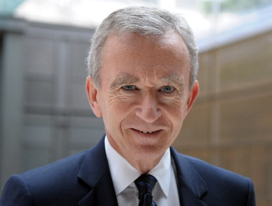 Bernard Arnault, one of the Top 10 world's richest people 2013: Forbes by China.org.cn
