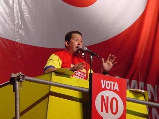 Huge Chavez in 2004. [Photo by Heiko Khoo]