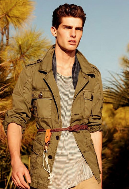 Paolo Anchisi, one of the 'top 10 male models in the world' by China.org.cn.