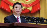 Xi Jinping addresses NPC closing meeting