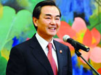 New Chinese FM vows to work for harmonious world