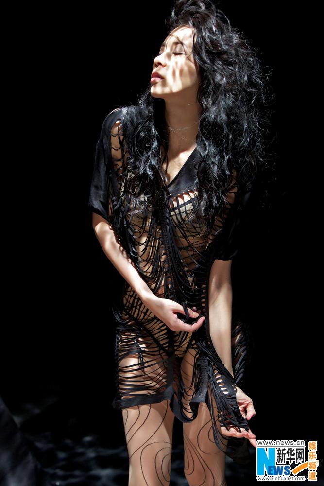 Karen Mok poses for her first jazz album Somewhere I