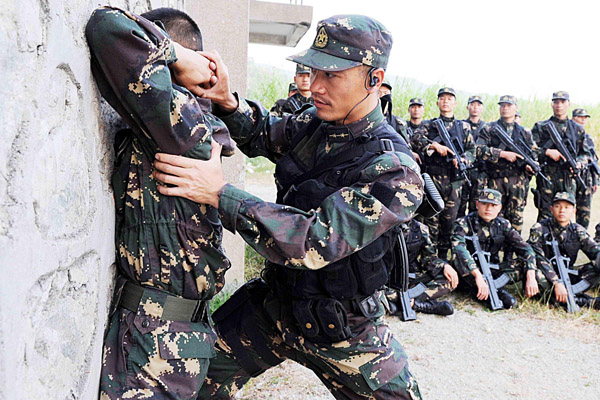 commando leader hones military skills- china.cn