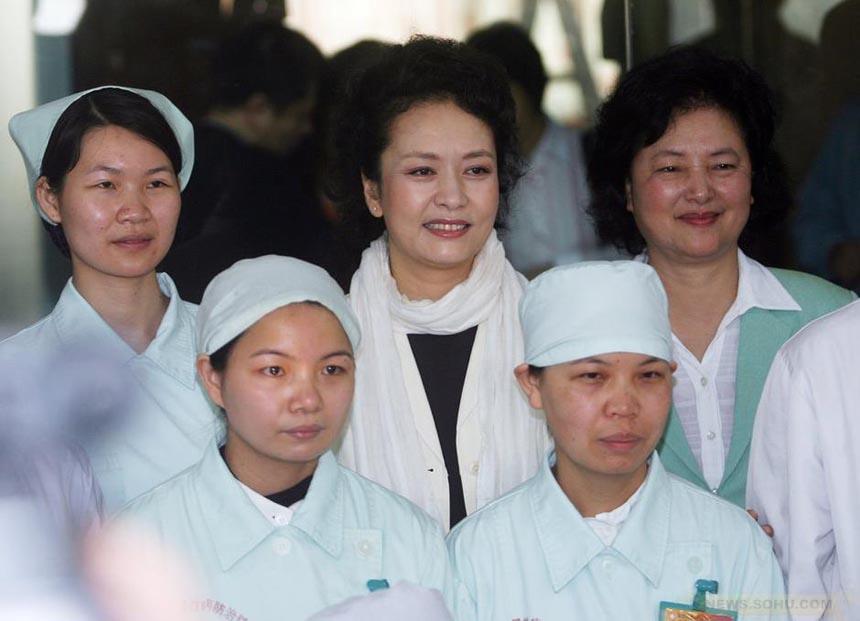 中国第一夫人彭丽媛 br/ China's First Lady P