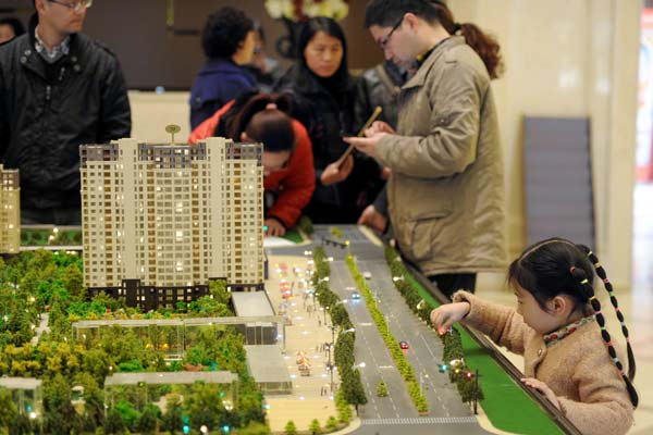 The Chinese middle class — the main driving force behind national consumption — is growing rapidly and investing in many areas of the economy, not just property. [File Photo]