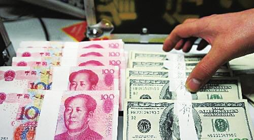 The yuan rose to the strongest in 19 years against the US dollar Monday after official data showed China's manufacturing grew in March at the fastest pace in 11 years. [File Photo]