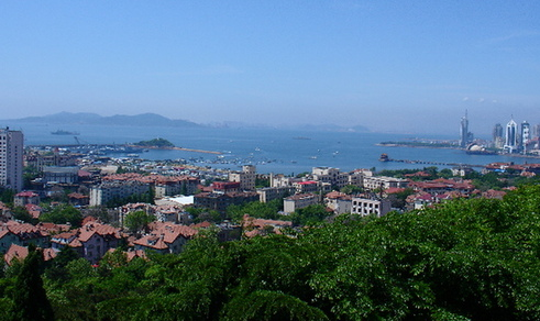 Beautiful seaside city, Qingdao