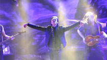 German band Lacrimosa holds concert in Beijing