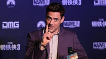 Robert Downey Jr. promotes 'Iron Man 3' in Beijing