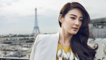 Zhang Yuqi's graceful photos in Paris