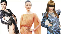 Top 10 super models in Chinese mainland