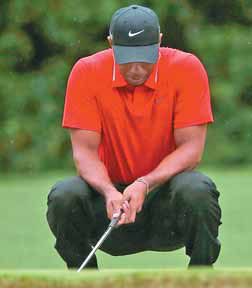 Woods left to muse on Masters misfortune