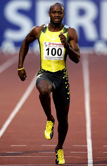 Asafa Powell will compete in the 2013 IAAF World Challenge Beijing on May 21 at the Bird's Nest.