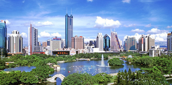 Top 10 opening-up cities in China
