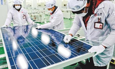 European firms warn against solar PV trade war - China org cn