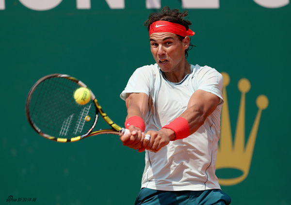 Nadal eases past Matosevic.