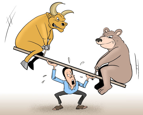 Balancing Bull and Bear [By Jiao Haiyang/China.org.cn]