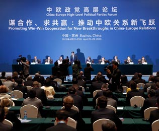 China-Europe Political Parties Forum concludes