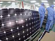 China solar firms oppose possible EU sanctions