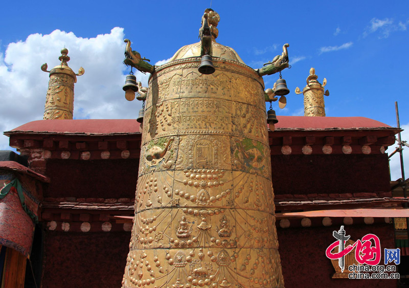 Jokhang Temple in China's Tibet
