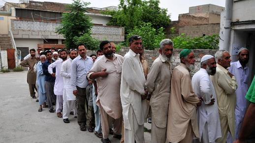 Pakistanis begin to vote in one-day general election