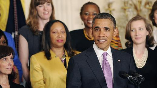 Obama declares Affordable Care Act at White House