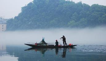 #CHINA-ZHEJIANG-XIN'AN RIVER-SCENERY (CN)