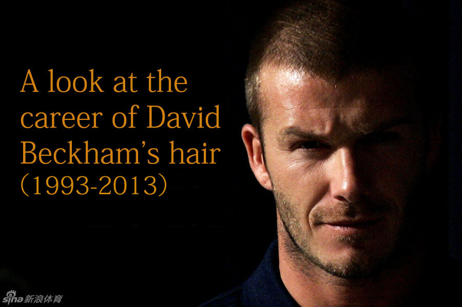 a look at the career of david beckhams haircuts chinaorgcn
