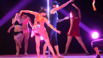 World's first pole dance drama performed in Tianjin
