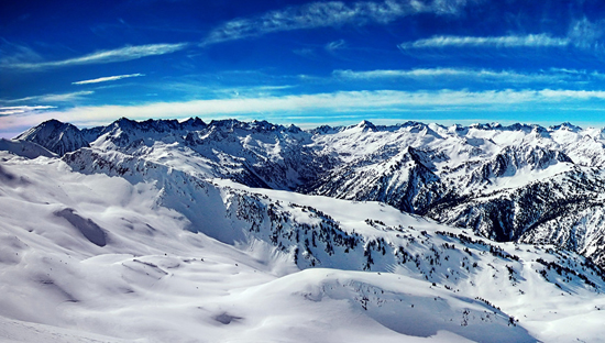 The Alps, Europe, one of the 'top 10 endangered attractions in the world' by China.org.cn.