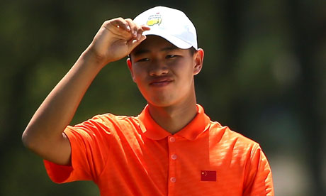 Fourteen-year-old golf phenom Guan to play Jack Nicklaus's Memorial Tournament.