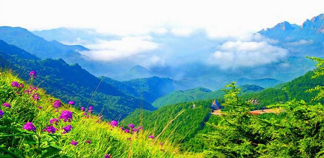 Amazing Wuling Mountain in Beijing