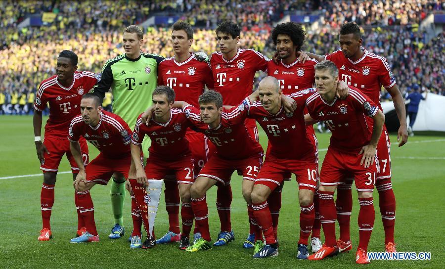 Bayern Munich Win Uefa Champions League Title China Org Cn