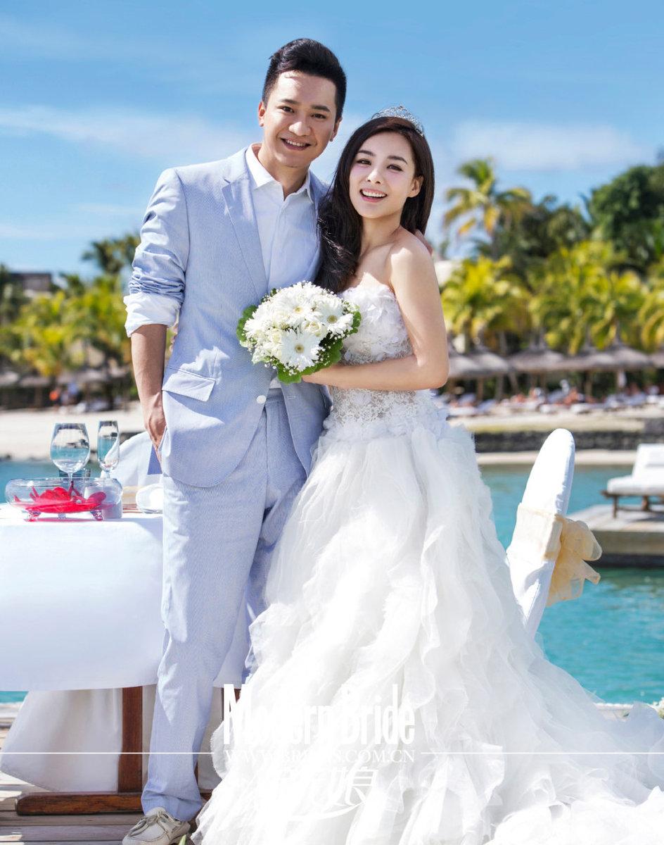 Cn Wedding Photography: Weding Photos Of Ex-gymnastics 'princess' Liu Xuan- China