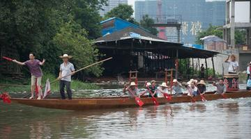 CHINA-GUANGZHOU-NEW DRAGON BOAT-LAUNCHING (CN)