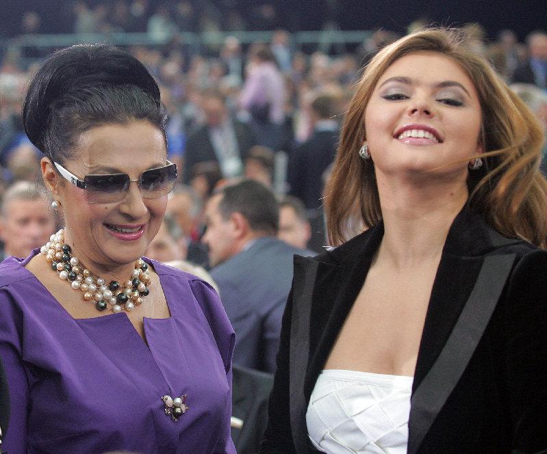 俄罗斯性感美女阿林娜·卡巴耶娃