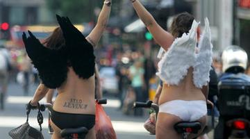 On your bike: Activists cycle around Cork naked to raise