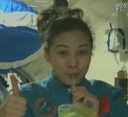 Astronauts to give lecture from space - China.org.cn Wang Yaping