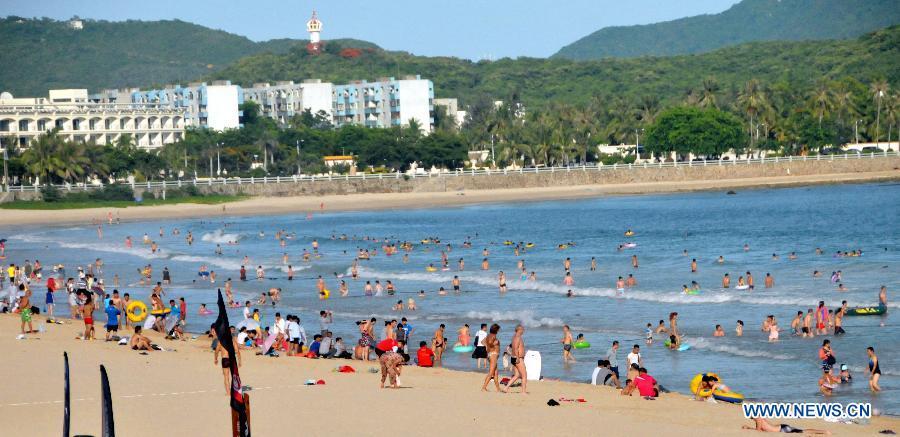 Keep Away From Heat In Sanya China Org Cn
